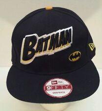 Batman New Era Marvel Embroidered Snapback Hat