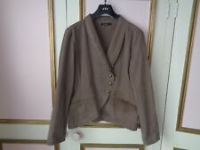 B YOUNG LONG SLEEVE JACKET UNLINED COTTON 3 BUTTON FASTENING SIZE 18