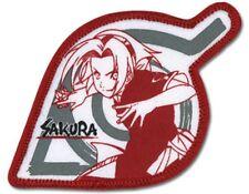 Naruto Sakura Figure Leaf Village Embroidered Patch NEW UNUSED