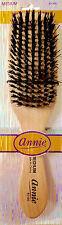 Annie Beard Brush Wooden Natural Bristle Medium Club Woods Hair - 2160