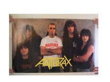 Anthrax Poster Horizontal Band Shot