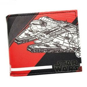 Star Wars Millennium Falcon Bifold Wallet Cards Notes Coin Holder