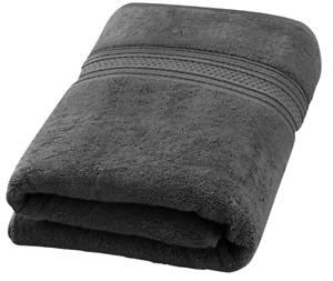 Extra Large Bath Towel XL Size Bath Towels Luxury Sheet 35x70 700GSM Cotton Grey