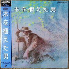 1988 Laserdisc NTSC CAV The Man who Planted Trees PILA-1019 Japan Frederic Back