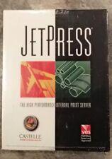 Castelle JetPress ThinLan/10Base-T Ethernet Board for LaserJet Ii Iid Iii Iiid