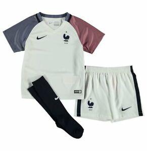 France Football Kit Baby Shirt Shorts & Socks Nike 3-6 Months 100% Official Away
