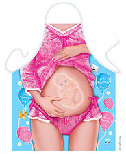 Expecting Mother women kitchen apron baby shower pregnancy gag gifts ITATI