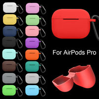 Bluetooth Earphone Full Coverage Case Soft Silicone Cover For Apple Airpods Pro