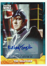 Doctor Who Signature Series Autograph Card BASE Michael Jayston as The Valeyard