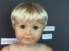 American Girl doll replacement Wig~Short Blonde Hair~Boy or Girl~Bitty Twin too