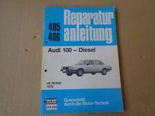 Audi 100 C2 Diesel Reparaturanleitung Querschnitt durch d. Motor-Technik 405 406
