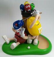 Vintage - MM M&M's Mulligan-ville Golf Collectible Candy Dispenser