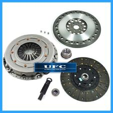 UFC HD CLUTCH KIT & FORGED RACE FLYWHEEL 96-04 FORD MUSTANG GT V8 281cu 6-BOLT