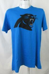 Carolina Panthers Mens Medium or Large Screened Logo T-Shirt ACPN 58
