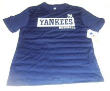 New York Yankees MEN'S Team colors T-Shirt New! Size: XL