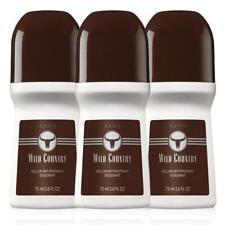 Avon - WILD COUNTRY -  Roll-On Anti-Perspirant Deodorant - 2.6oz