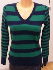 CAshmere LORD & TAYLOR Pullover 100% Kaschmir blau / grün Größe 36