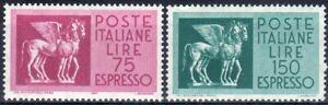 1958 italia repubblica Espressi Stelle Cavalli alati