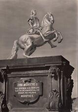 """Dresden - Standbild """"August der Starke """" , DDR-Zeit  , Ansichtskarte"""