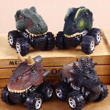 Mini Dinosaur Cars Pull Back Vehicle Toys Animal Toddlers Boys Baby Gift j-c UK