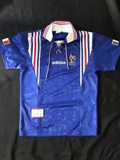 Maillot Equipe de France officiel 1996 domicile