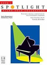 Spotlight Piano Solo Collection Book 1