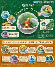Re-ment Pokemon Terrarium Collection 3 Figure Mascot FULL SET 6 pcs