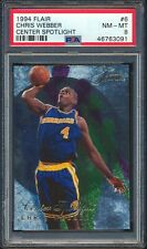 46763091 1994 Fleer Flair Center Spotlight 6 Chris Webber PSA 8 NM-MT