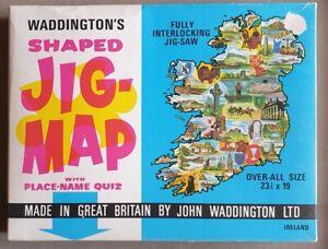 X943 Waddington's Jig-Map Ireland Complete