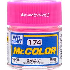 GSI Creos Gunze Mr Hobby Color Lacquer C174 Fluorescent Pink Paint 10ml