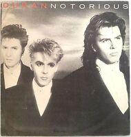 Duran Duran - Notorious LP Vinyl Record Orig 1986 Bulgaria Pressing Balkanton