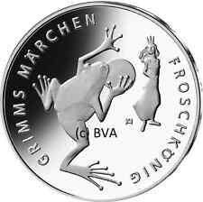 20 Euro Silber Gedenkmünze Deutschland 2018 Stempelglanz Grimm´s Der Froschkönig