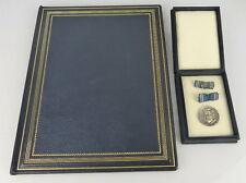 Clara Zetkin Medaille in 900 Ag Silber im Etui + Urkunde verliehen 1960