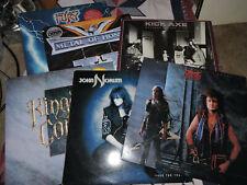 Vinyl LP80'smetal lot #2 John norum face the,Mcauley schenker,kick axe,stonefury
