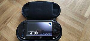 Sony PlayStation PS Vita Konsole Henkaku fähig Sehr Guter Zustand Getestet