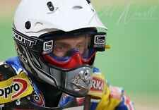 More details for tomasz gollob british grand prix 2009 speedway photograph 12x8 inches