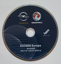 2019-20 VAUXHALL OPEL DVD800 MY09/10 NAVIGATION MAP SATNAV DISC FOR ASTRA MERIVA