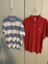 2 Orvis Brooks Brothers Mens 2XL Polo Shirts