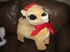 "CLARICE Rudolph The Red Nosed Reindeer LARGE 16"" Dan Dee Plush-  NWT"