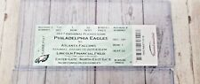 Philadelphia Eagles Vs Atlanta Falcons NFC Divisional Game Ticket Stub Row 1