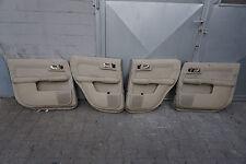 4x Audi A2 8Z Door Panel Covers Fabric Beige Panel