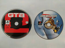 Playstation 1 Pal Lot Grand Theft Auto 2 GTA 2 Coolboarders 3 PAL PS2 Compatible