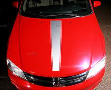 2008-2014 Dodge AVENGER  Hood Center Blackout Stripe Racing Accent Decal