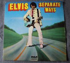 Elvis Presley, separate ways, LP - 33 tours import