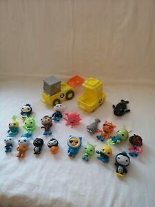 Large octonauts toys bundle, Inc figures sea creatures and vehicles.
