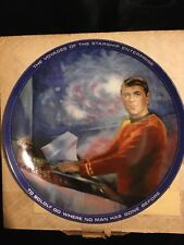 """Star Trek Voyages Of The Starship """"Scotty"""" Collector'S Plate"""