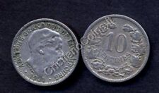 LUXEMBOURG 10 Centimes 1901 VF