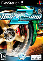 Need for Speed Underground 2 PlayStation 2 PS2 Game+Case Ships Free+Tracking
