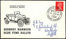 GB 1969 Sudbury Mammoth Olde Tyme Rallye Cover #C42390
