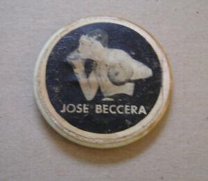 "Vintage Jose Beccera Pinback Mexican Great Boxer 2"" Button Pinback"